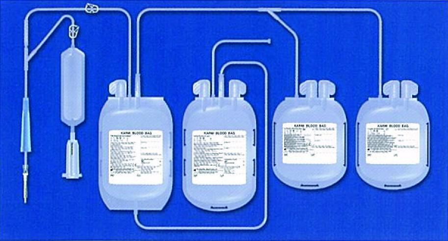 Набор для донорской крови KAWASUMI